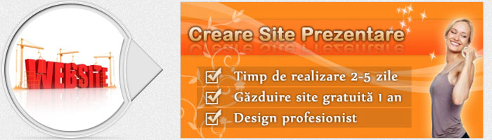 Creare site in rate